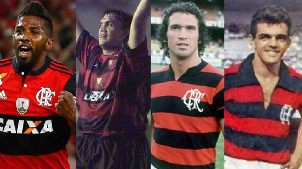 Cabe mais um! Veja alguns heróis de títulos do Flamengo no Maraca ... 2157b8d174006