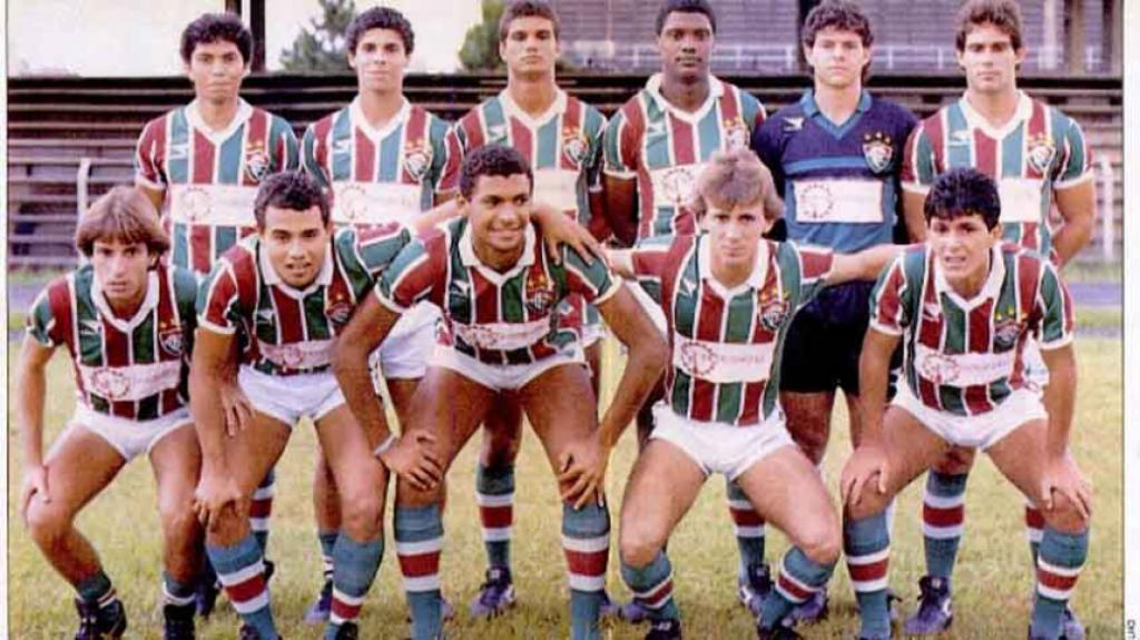 Campeões Copinha - Fluminense 1989