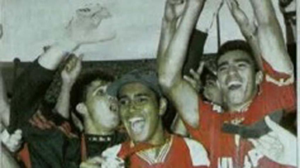 Campeões Copinha - Internacional 1998