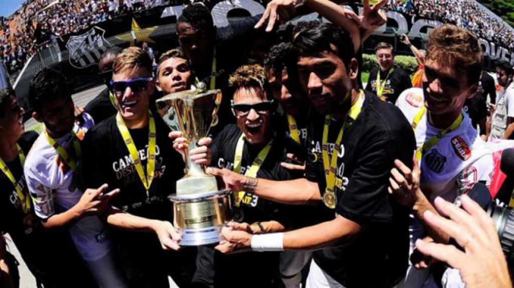 Campeões Copinha - Santos 2014