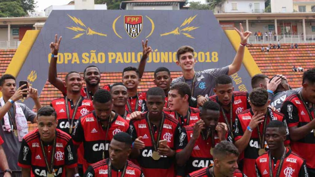 São Paulo x Flamengo - Copinha