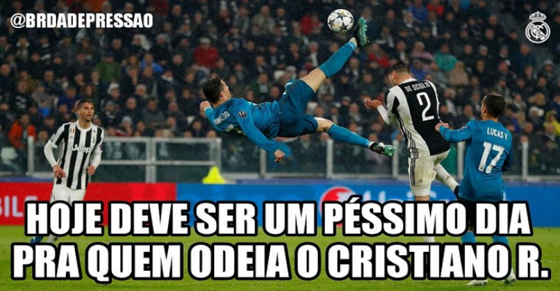 Golaço de Cristiano Ronaldo quebra a internet  veja memes pelo mundo ... 54a137bab9848