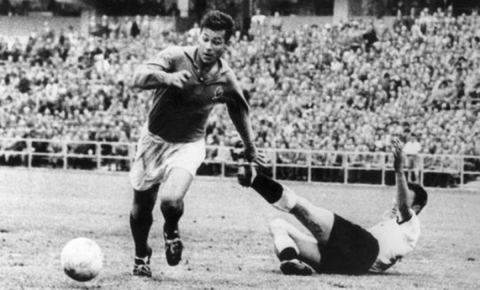 Just Fontaine na Copa de 58