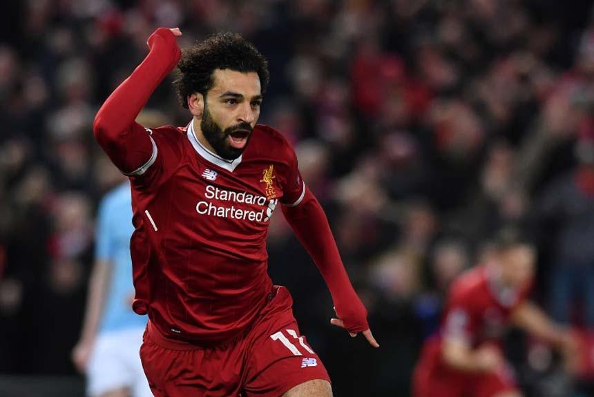 696a7d515a500 Vivendo grande fase o egípcio Salah lidera a corrida pela artilharia. Ele  marcou 29 gols