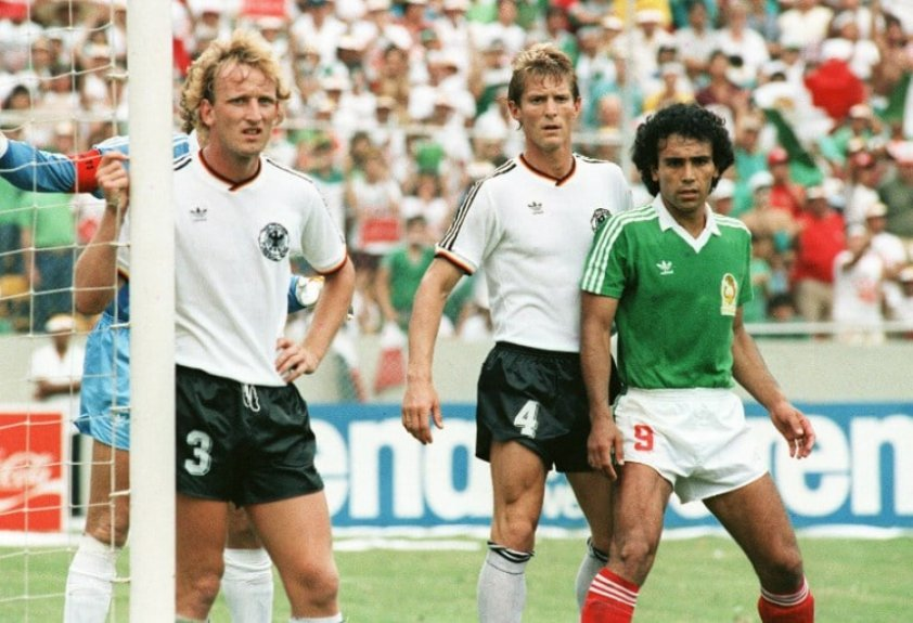 Alemanha x México - Quartas de final da Copa do Mundo de 1986