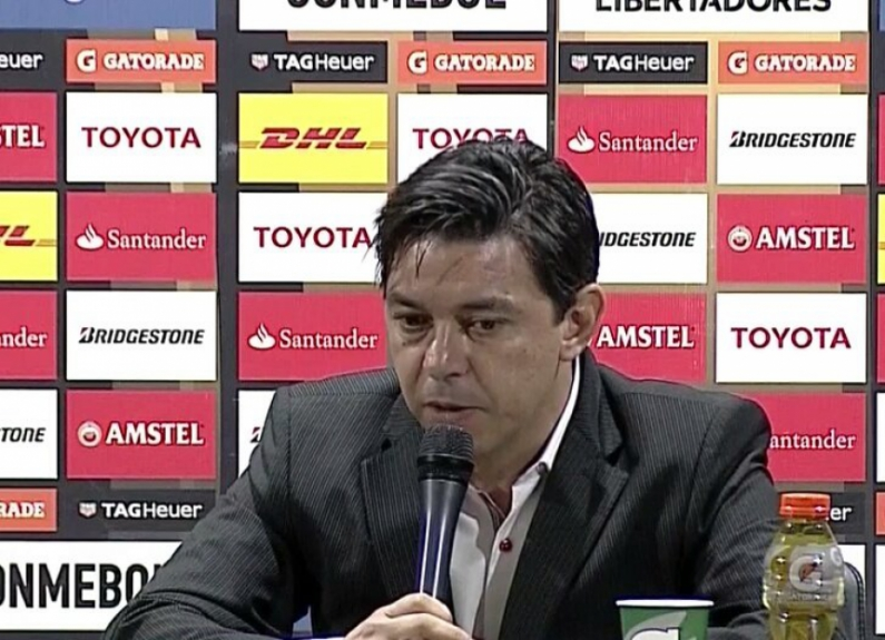 Marcelo Gallardo - Coletiva