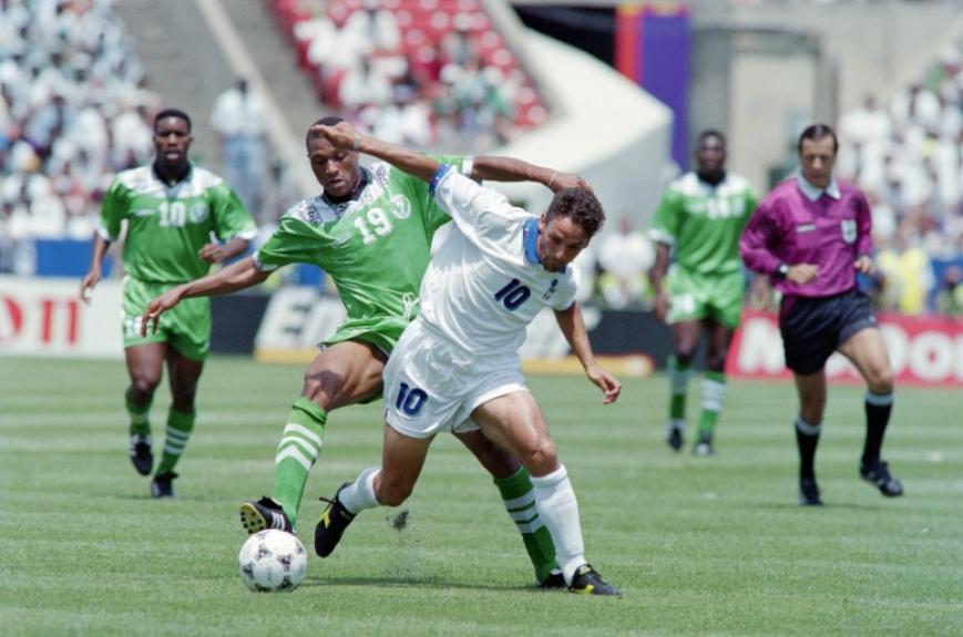 Copa de 1994 - Nigéria 1 x 2 Itália