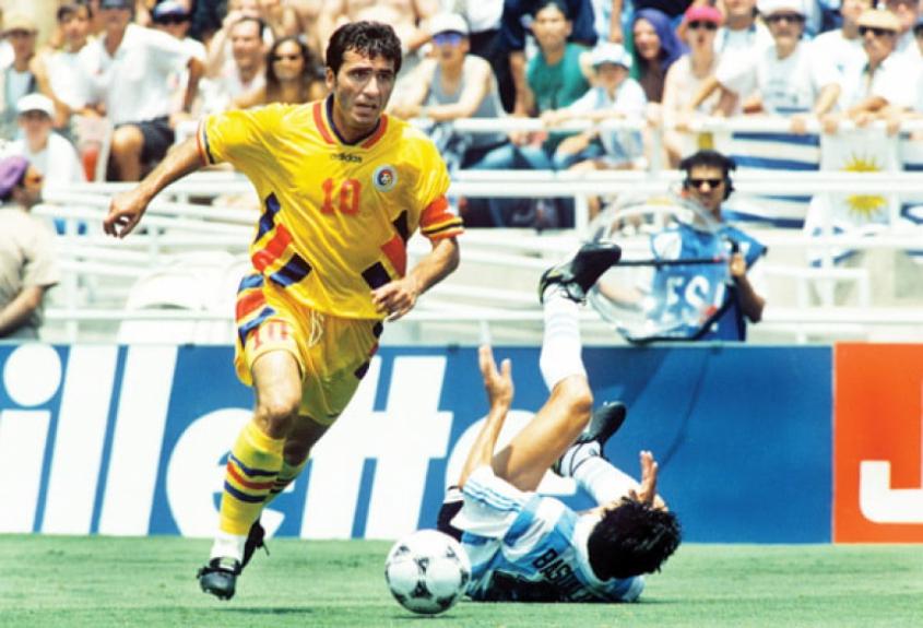 Copa de 1994 - Romênia 3 x 2 Argentina