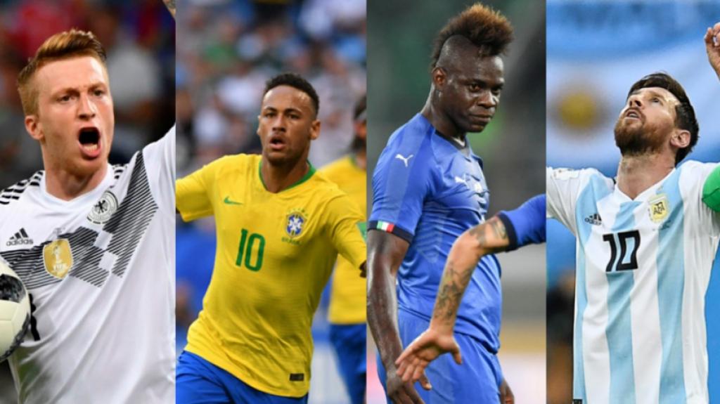 774b96d9229c0 Brasil supera a Alemanha e é o país com mais gols marcados em Copas