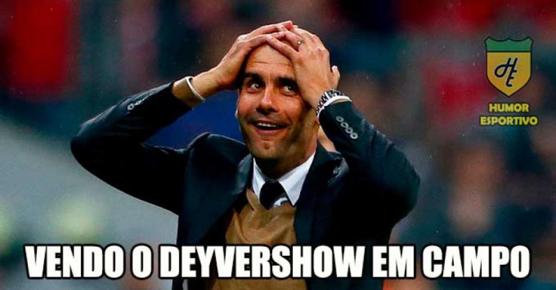 484de718eb Palmeirenses fazem memes brincando com boa fase de Deyverson