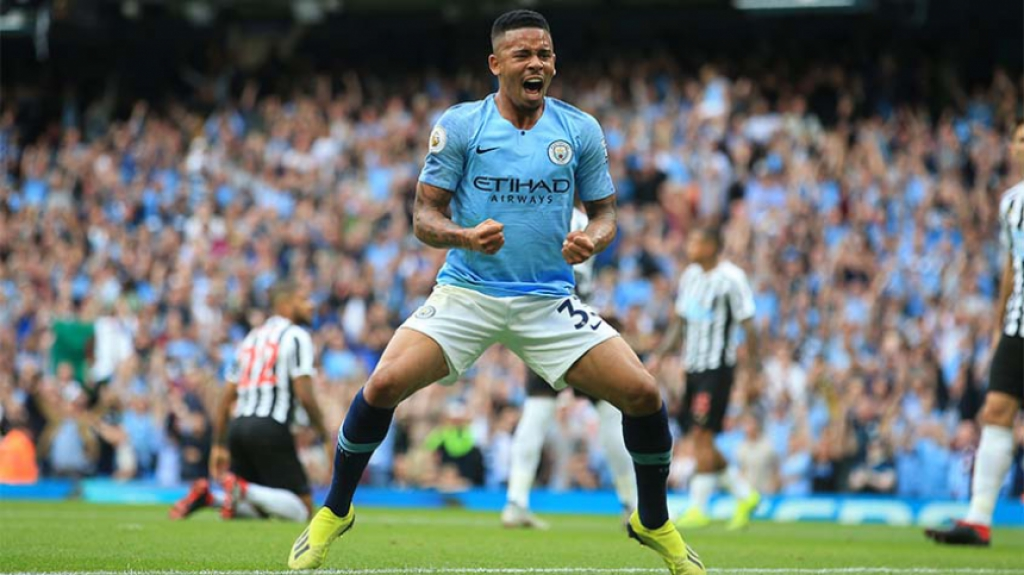 Manchester City x Newcastle - Gabriel Jesus
