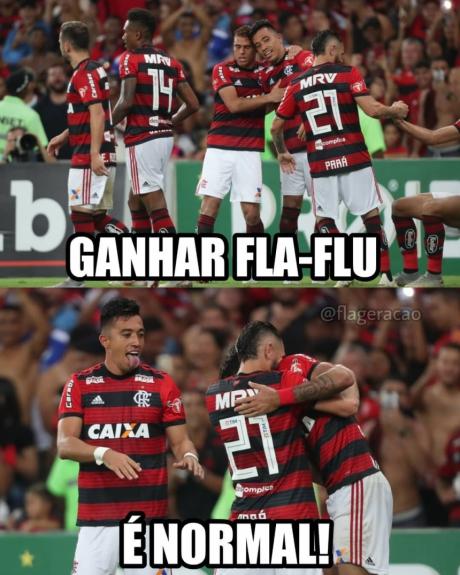 Os melhores memes da vitória do Flamengo sobre o Fluminense