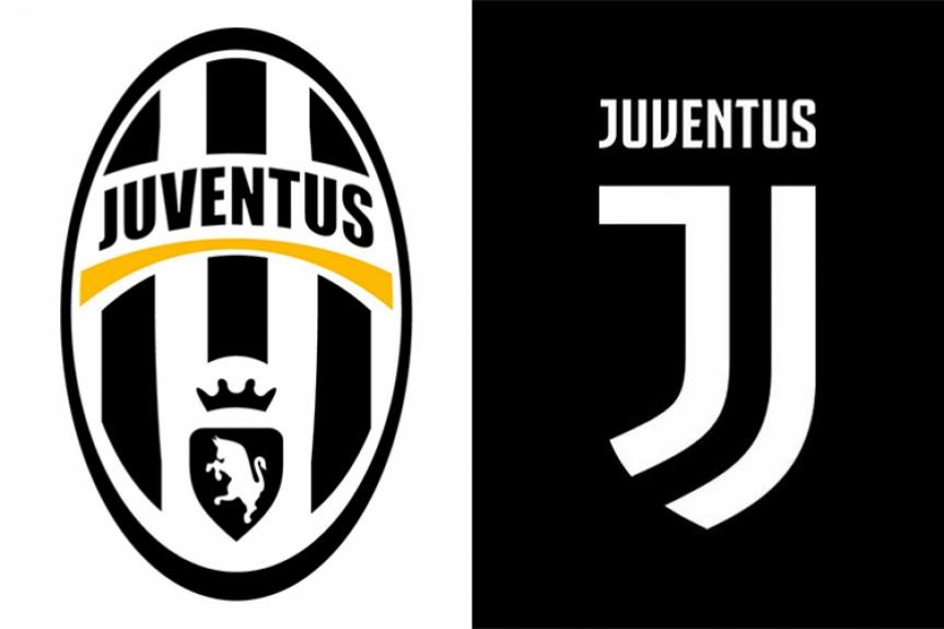 1905acfaccfe2 O novo escudo da Juventus é composto por duas grafias da letra