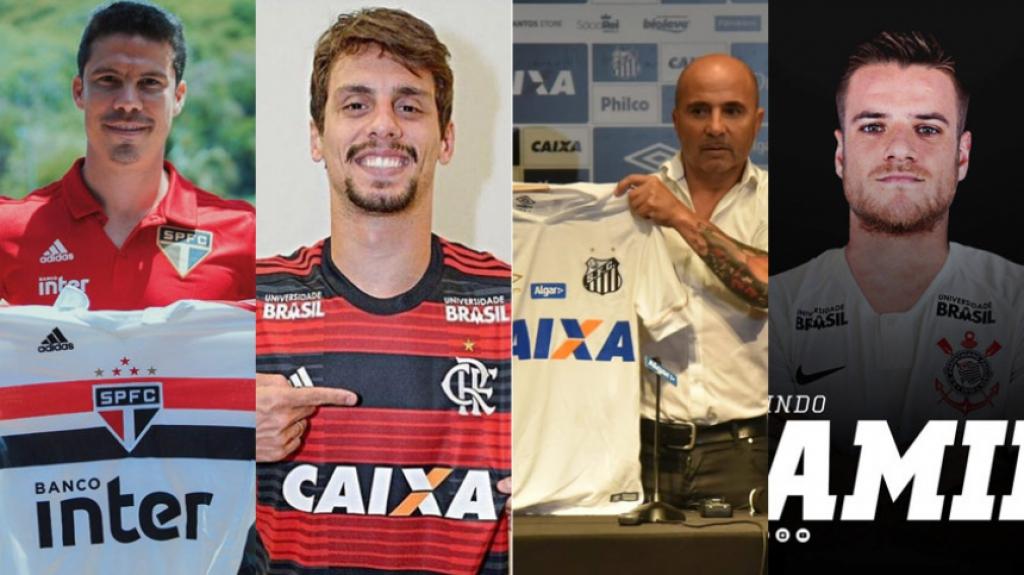 cd9d81219e Veja as contratações oficializadas até agora pelos clubes da Série A ...