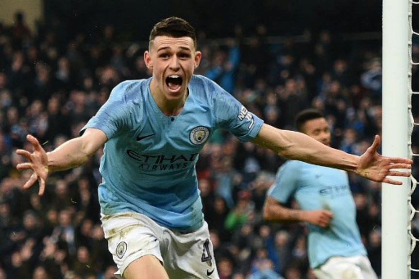 Foden - Manchester City x Rotherham