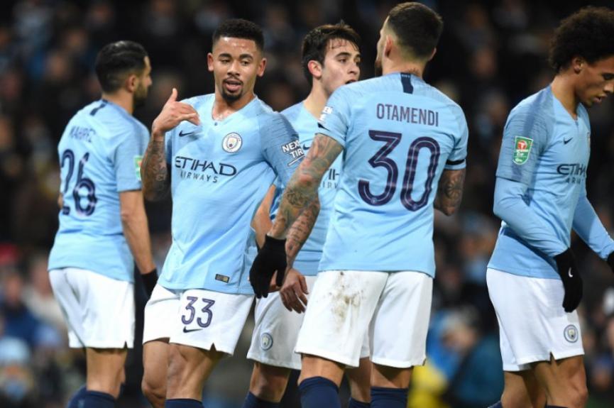Manchester City x Burton