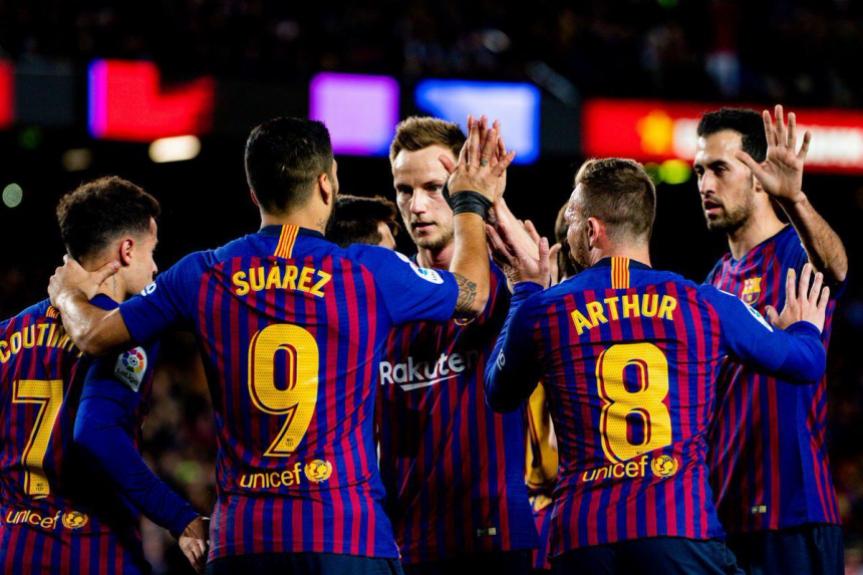 Barcelona x Eibar