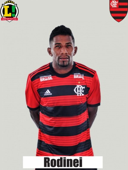 Atuações - Flamengo - Rodinei