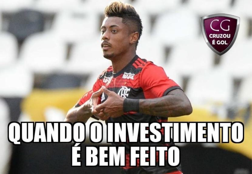 Os melhores memes de Botafogo 1 x 2 Flamengo