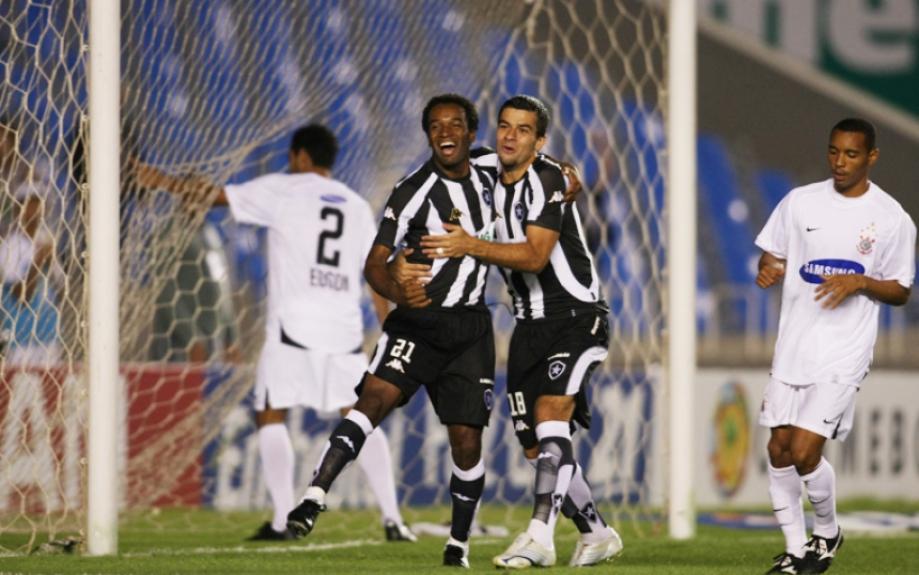 Botafogo 3x1 Corinthians - Sul-Americana de 2007