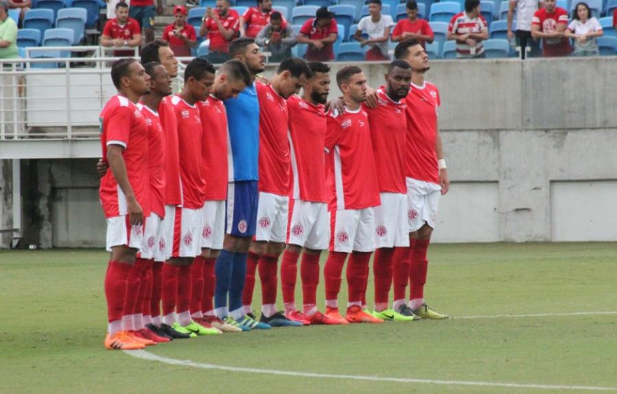 América-RN homenageia o Flamengo