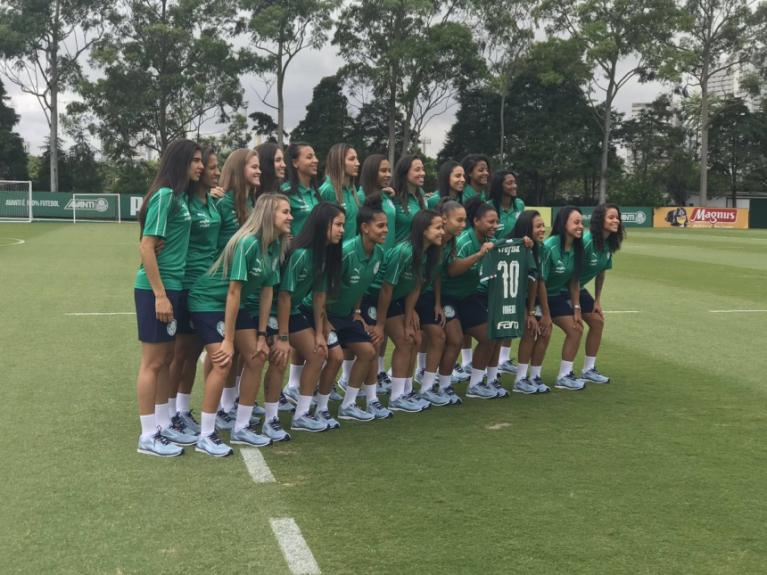 Time feminino do Palmeiras disputará o Campeonato Paulista e a segunda divisão do Brasileiro da modalidade