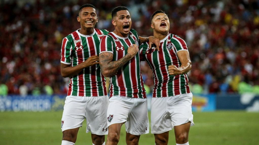 Flamengo x Fluminense Comemoração Flu