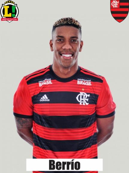 Atuações - Flamengo - Berrío