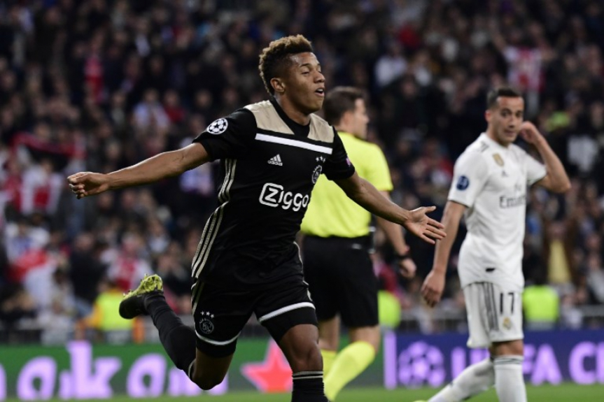 Real Madrid x Ajax Neres