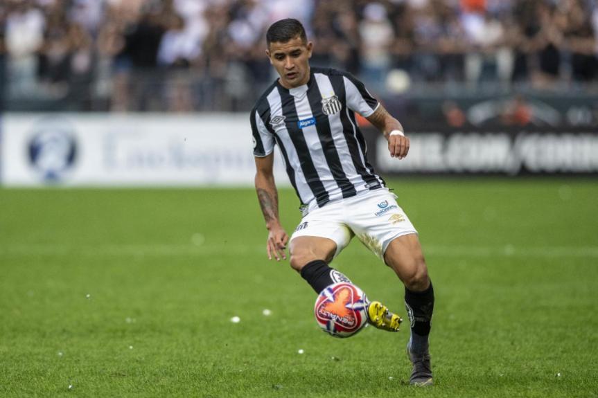 Derlis González - Corinthians x Santos