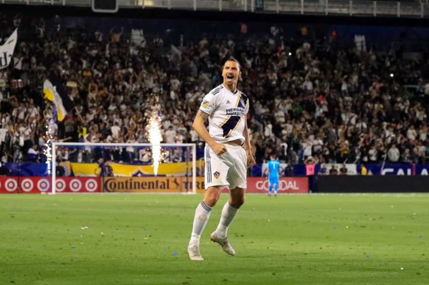 Ibrahimovic - Los Angeles Galaxy x Portland