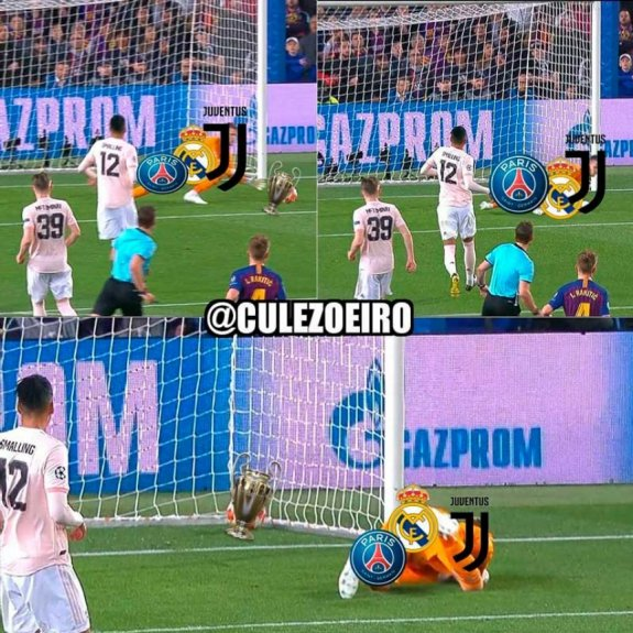 Memes: Barcelona 3 x 0 Manchester United
