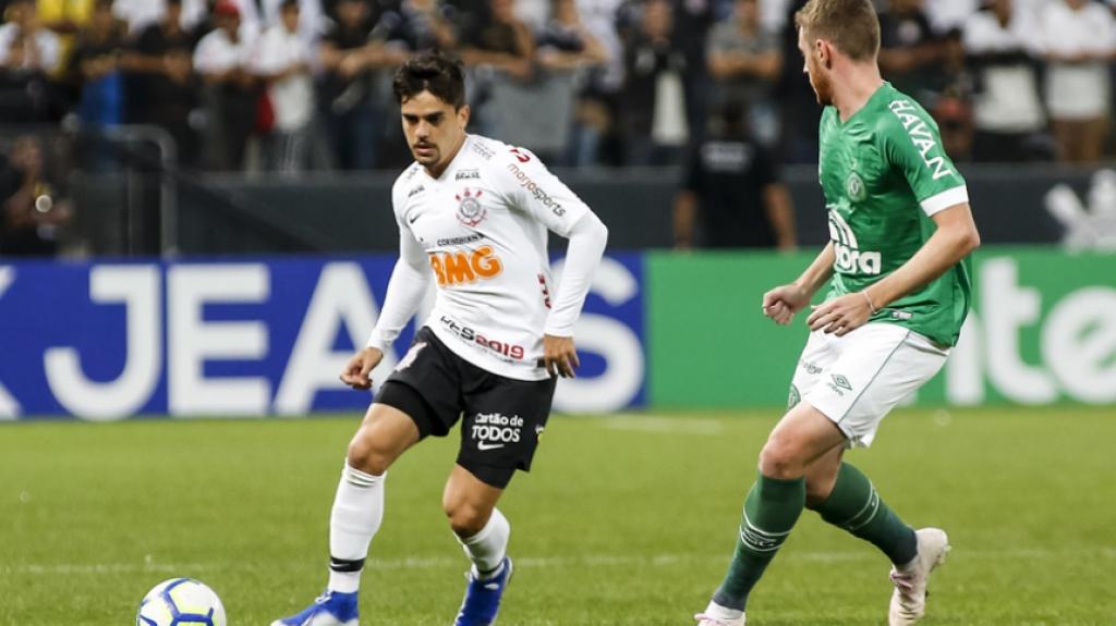 Corinthians x Chapecoense Fagner