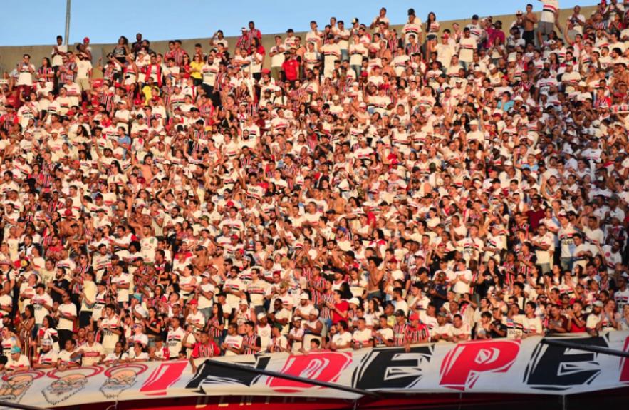 São Paulo x Botafogo - Torcida do São Paulo