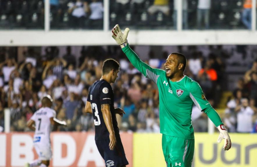 Santos x Fluminense - Rodolfo