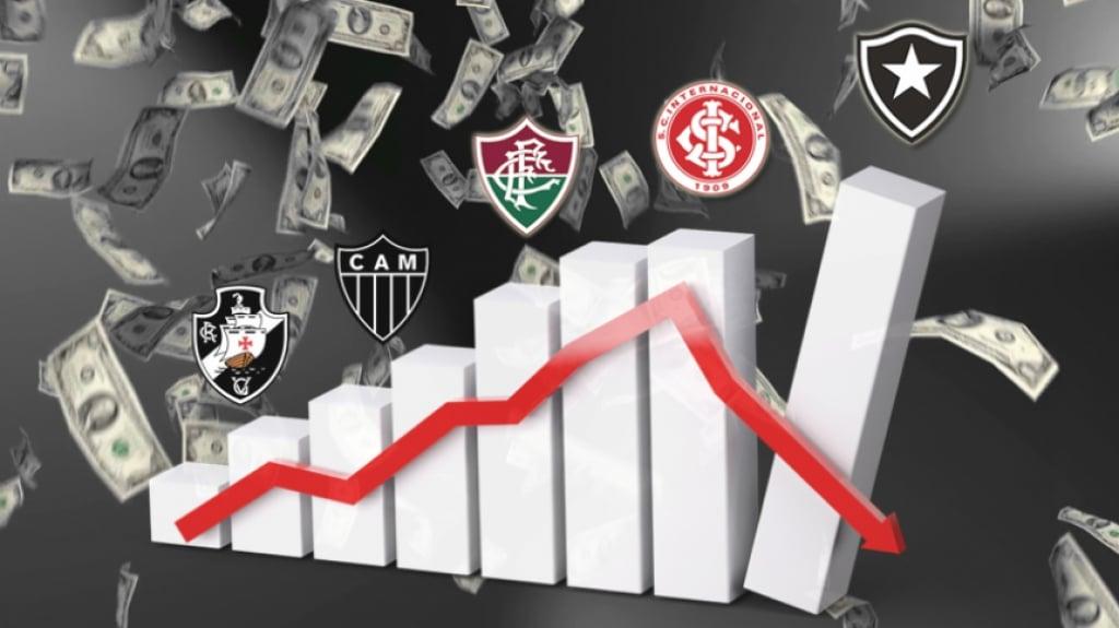 Estudo mostra os clubes mais endividados do futebol brasileiro | LANCE!