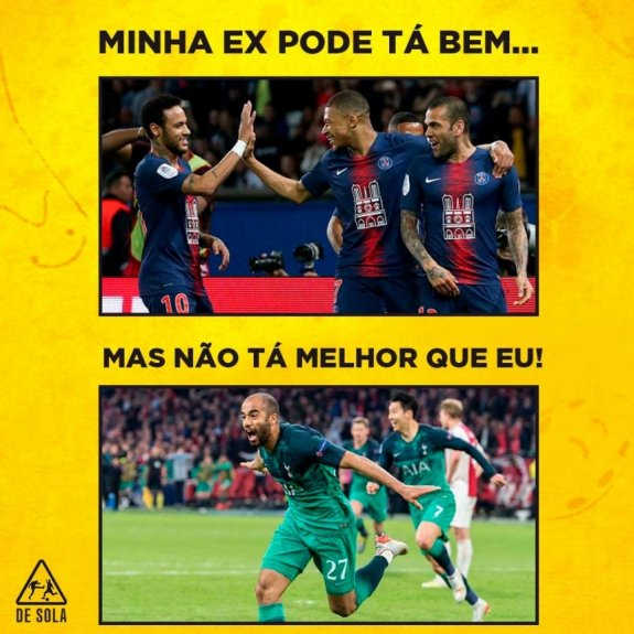 Web Enlouquece Com Show De Lucas Moura E Virada Do