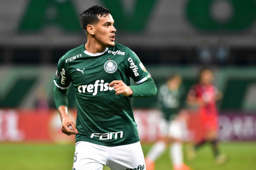 Palmeiras x San Lorenzo - Gustavo Gómez