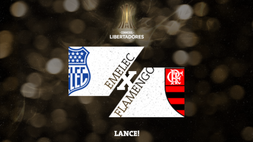 Confrontos Libertadores Emelec x Flamengo