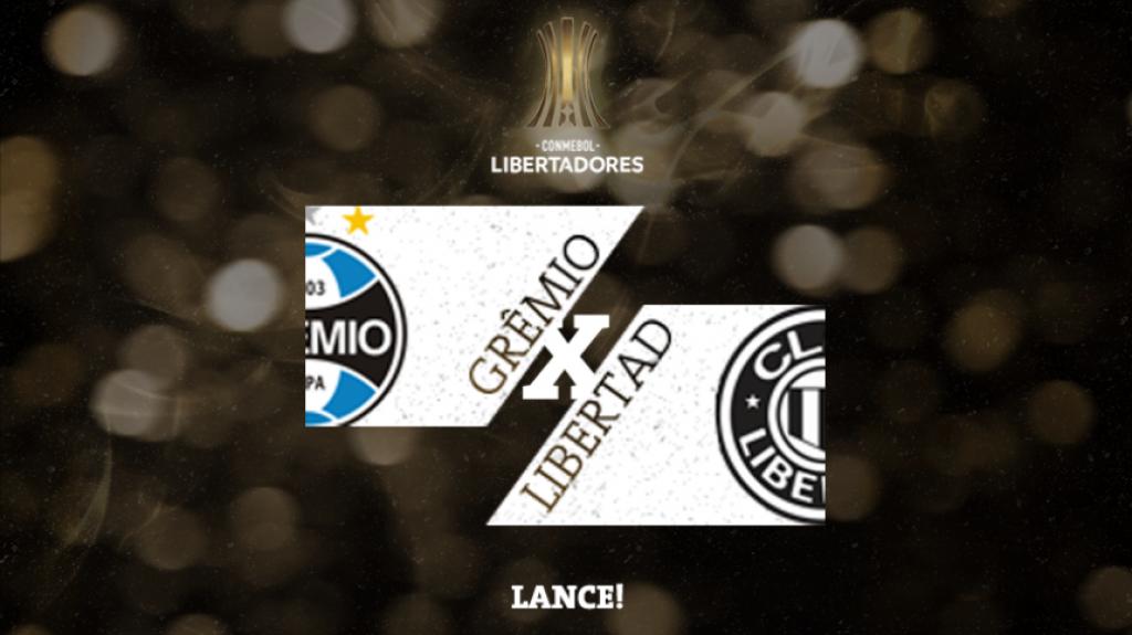 Confrontos Libertadores Grêmio x Libertad