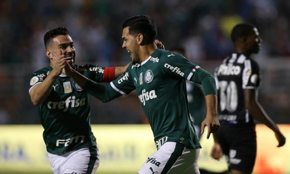Palmeiras x Santos - Comemoração