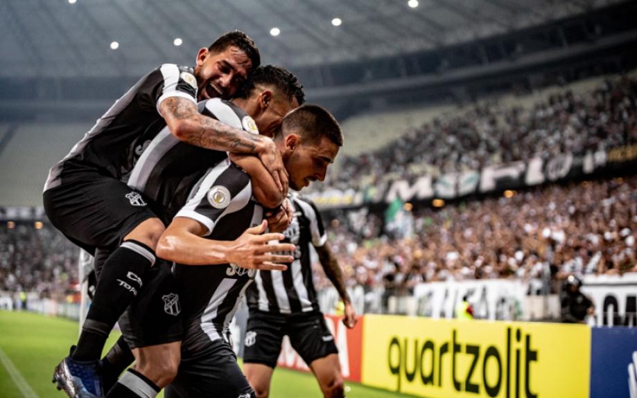 Ceará x Grêmio - Comemoração