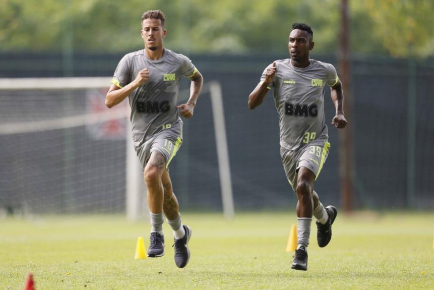 Marcos Júnior e Jairinho - Vasco