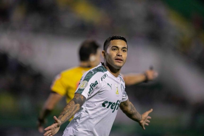 Chapecoense x Palmeiras - Dudu
