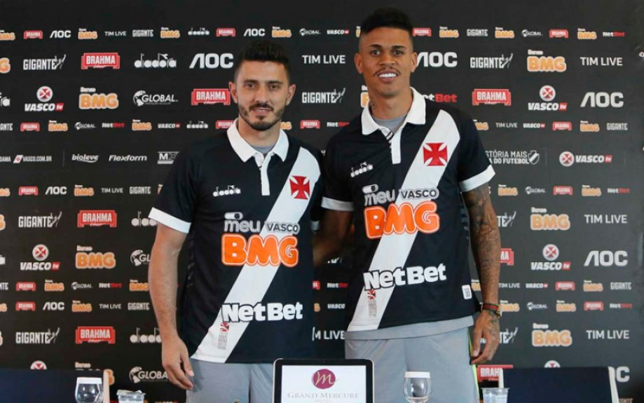 Marquinhos e Richard - Vasco