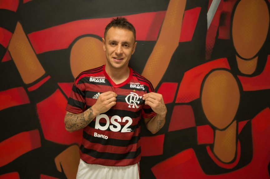 Apresentação Flamengo - Rafinha