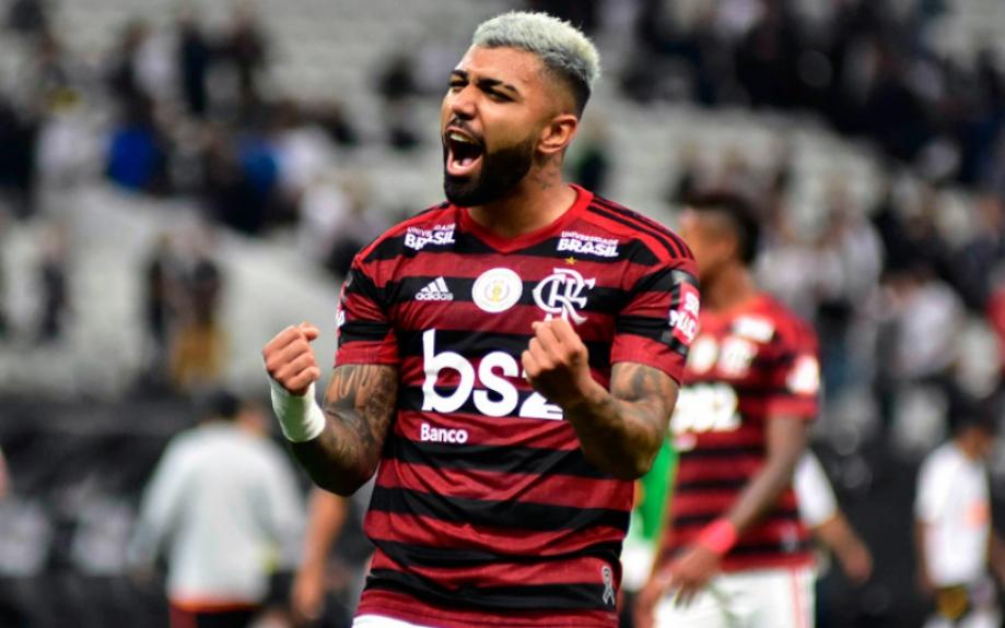 Corinthians x Flamengo - Gabriel