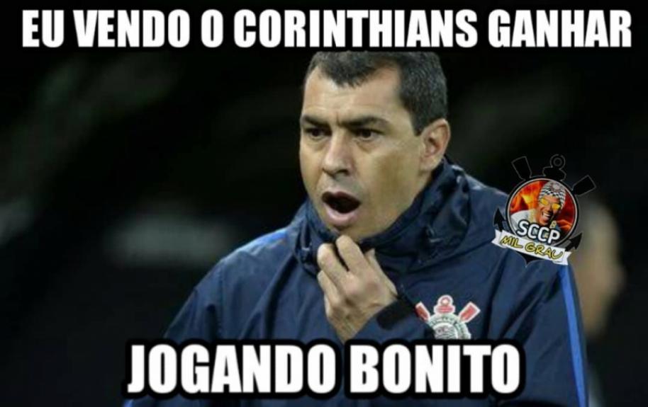 [CONFIRA] Vitória do Corinthians rende memes nas redes sociais