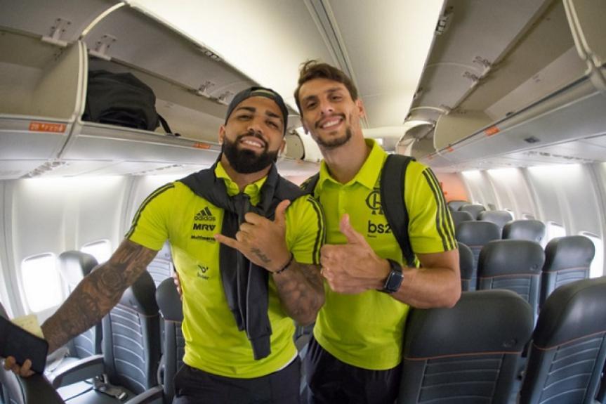Confira os números de Rodrigo Caio e Gabigol pelo Flamengo