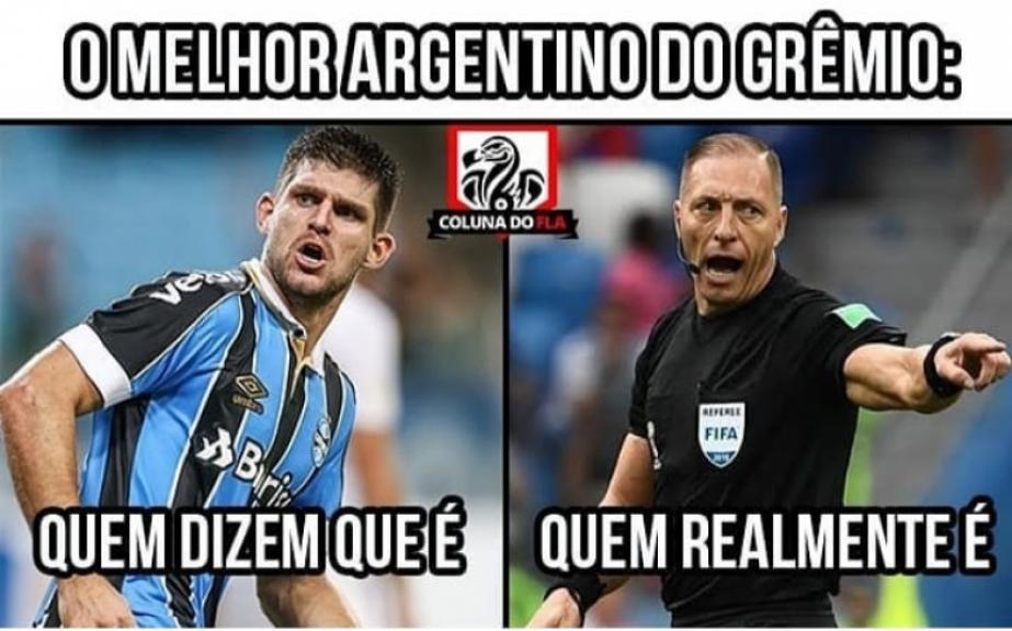 Var Gabigol E Mais Veja Os Memes Do Empate Entre Grêmio E